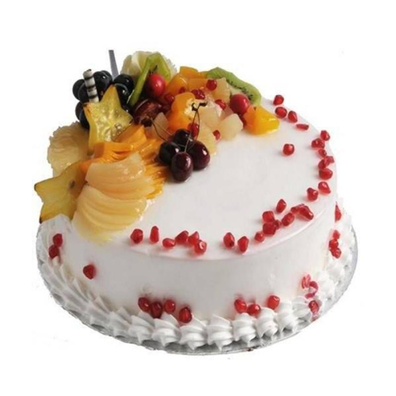 Mixed Fruit topped Cake (per Pound) - 911 Food Express